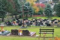 Dom smútku a cintorín