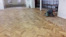 Oprava podlahy v KD a malovanie