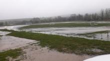 Záplava ihrisko