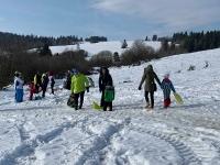 Radovánky na snehu, 10. február 2019